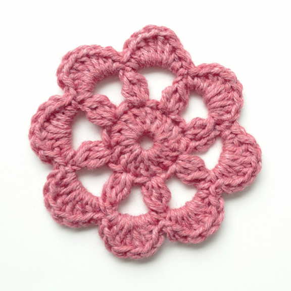 "Crochet flower ""Rainyday"""