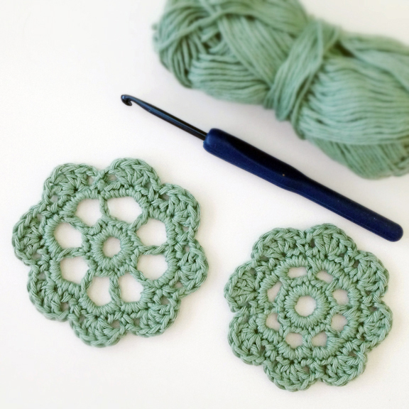Crochet Flower Pattern Motif : How to Crochet this beautiful Flower Motif for Free Deux ...