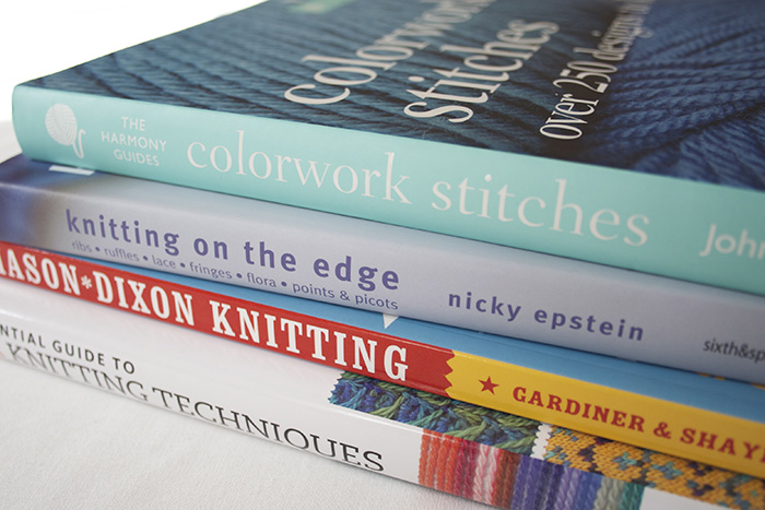 Knitting And Crochet Books : My oh-so-essentials knitting and crochet books! :)