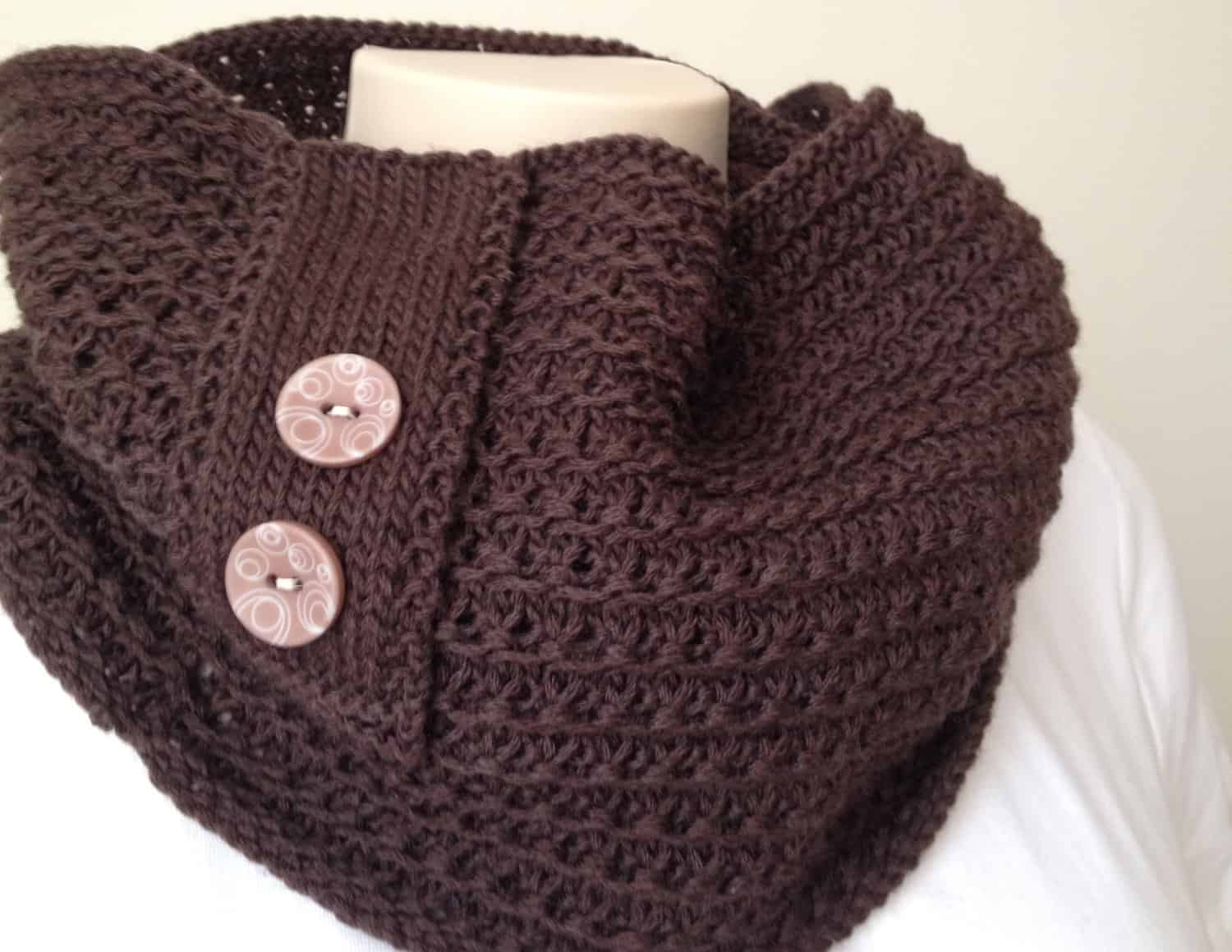 New knitting pattern cowl chocolate cowl bankloansurffo Choice Image