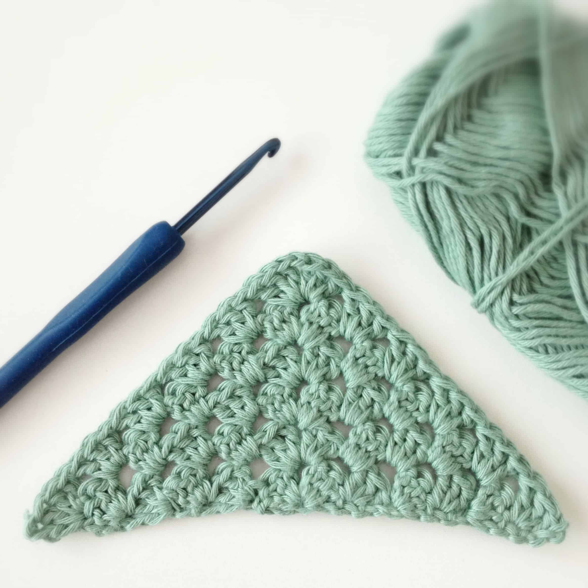 Crochet Triangle : Free Crochet Pattern Modification : Triangle